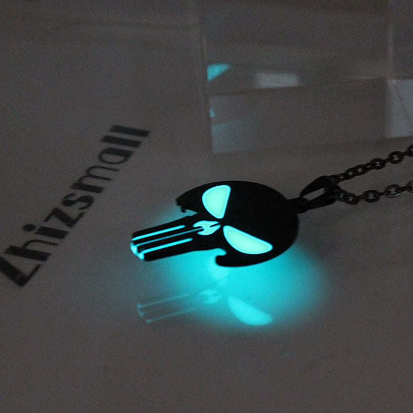 Glowing necklace Punk Necklace