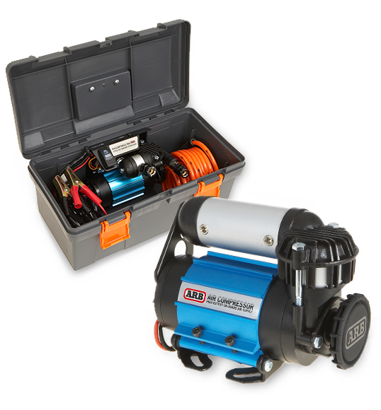 ARB 12v High Output (Single) Air Compressor: Portable Kit