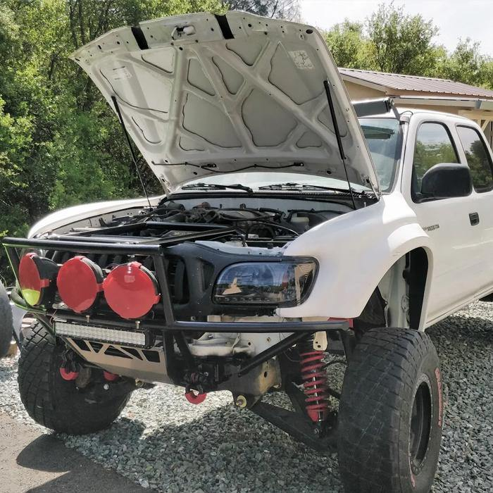 '01-04 Tacoma Hood Strut Kit - OPT OFF ROAD