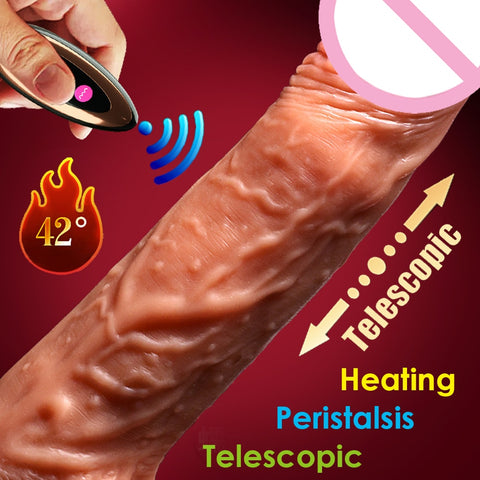 Wireless control Dildo Extreme Realistic - Be Beautiful For Ever