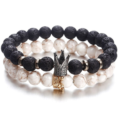 New Fashion Beaded Women Men Bracelets - Be Beautiful For Ever