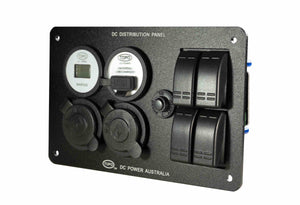 Topo Distribution Panel w/ Volt Meter