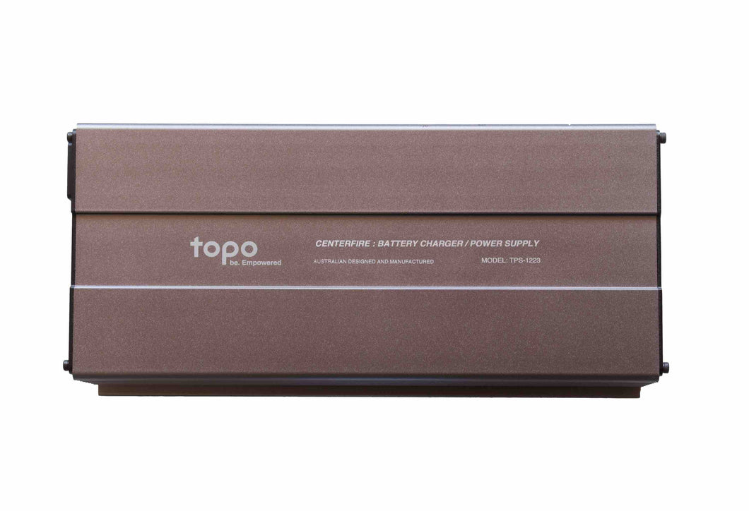 Topo 12V/350Watt Battery Charger/Power Supply