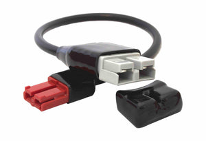 50Amp Anderson Plug GREY to 35Amp Anderson Plug RED Short Lead