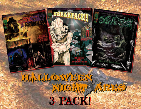 Halloween Nightmares 3 Pack!