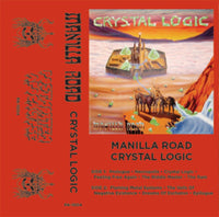 "Manilla Road ""Crystal Logic"" CS"