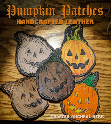 Leather Pumpkin Patches