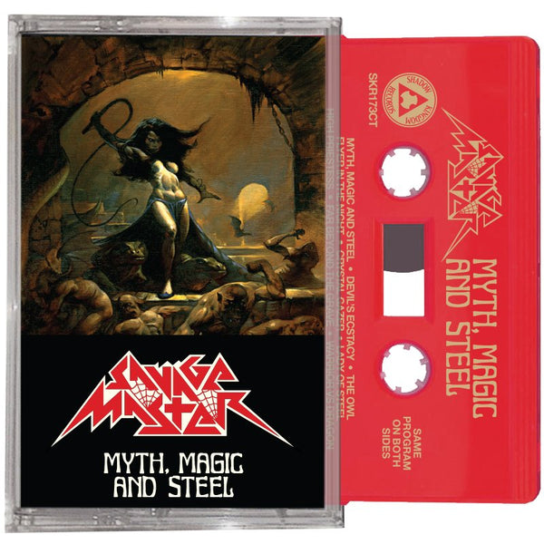 Savage Master - Myth, Magic, and Steel (Cassette)