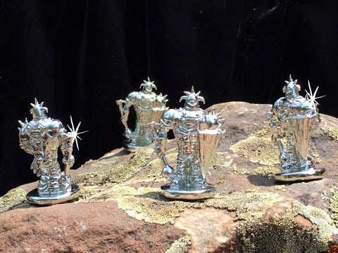 METAL MINIS! 4 WARLORDS