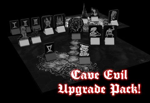 Cave Evil upgrade pack (for 1st printing)