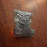 Cave Evil Necromancer Pin