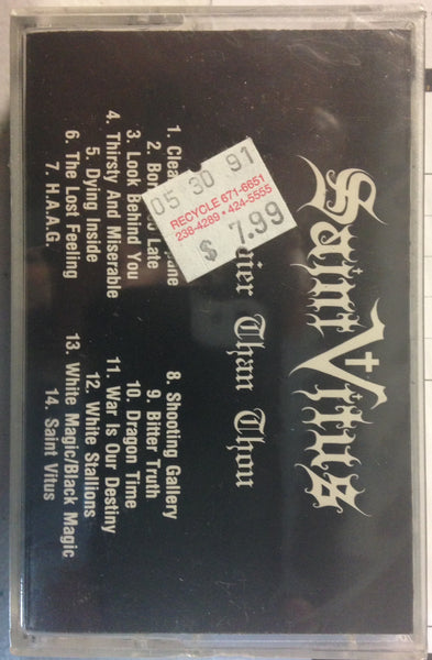 Saint Vitus - Heavier Than Thou - CASSETTE