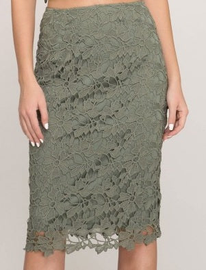 Lace Enchantment Skirt~Blue Country Boutique, LLC