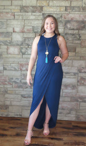 Dancing The Night Away Dress Navy ~ Blue Country Boutique, LLC