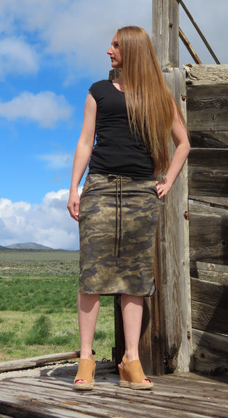 Have All The Fun Camo Skirt ~ Blue Country Boutique
