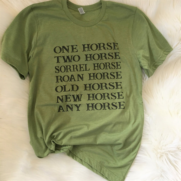 One Horse Two Horse-Blue Country Boutique