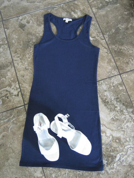 Know You Like I Do Dress Navy~ Blue Country Boutique, LLC