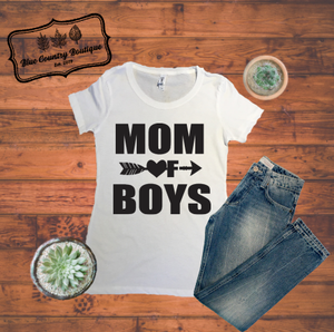 Mom Of Boys-Blue Country Boutique