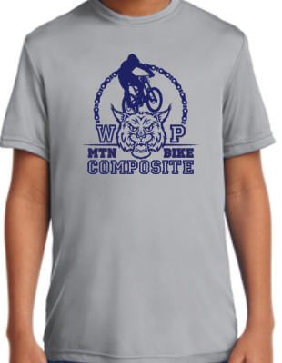 Adult 100% Polyester T-shirt WP Composite