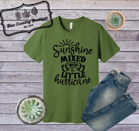 Sunshine Mixed WIth A Little Hurricane-Blue Country Boutique