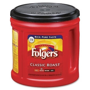 Folgers Classic Roast Coffee Ground UM: 1 EA FOL00367EA