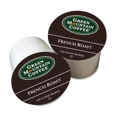 GMT6694 Green Mountain Coffee Roasters French Roast Coffee UM: 24/BX