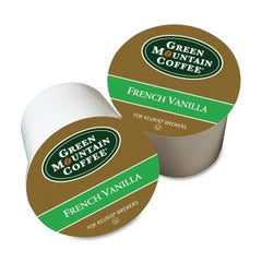 GMT6732 Green Mountain Coffee Roasters French Vanilla Coffee UM: 24/BX