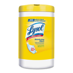 Lysol Disinfecting Wipes Lemon, Lime Blosson Scent UM: 110/Wipes EA