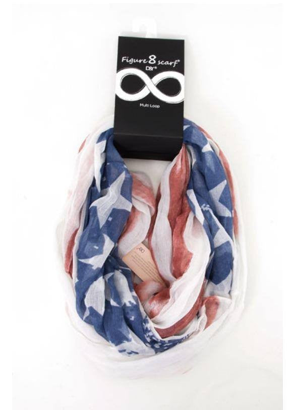 Miss American Pie Infinity Scarf