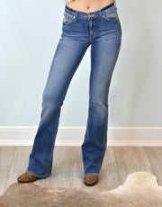 Kan Can Premier Denim: Morgan Wash Boot Cut Jeans