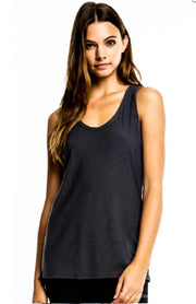 CRB Back To Basics Racerback Tank: Black