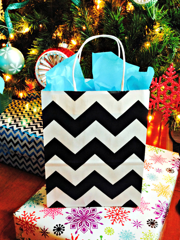 CRB Shopper/Turquoise Premium Tissue Paper: Small