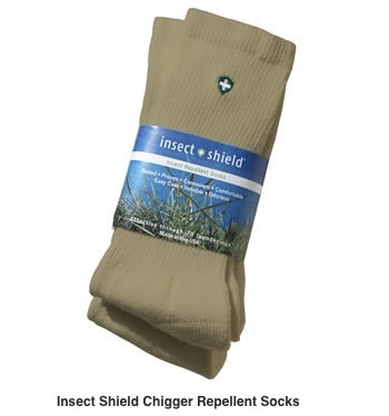 Shop Insect Repellent Socks - Men's Crew Socks