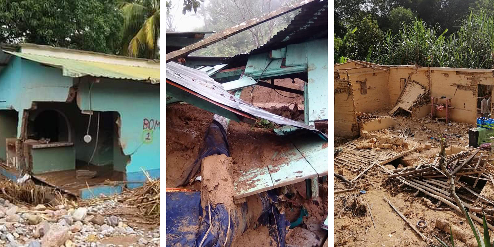 Hurricanes are especially damaging for poorer Honduran communities.