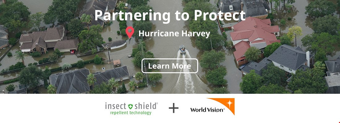 Insect Shield® and World Vision Partnering to Protect in Harvey's Wake
