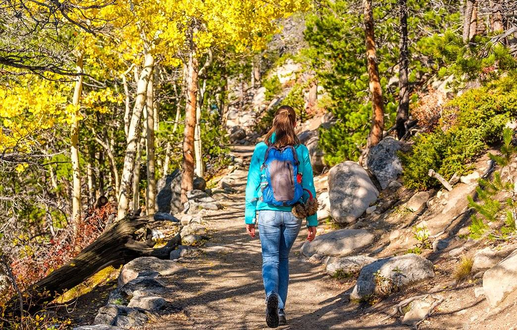 Enjoy fall hiking trips and don't forget your insect repellent clothes!