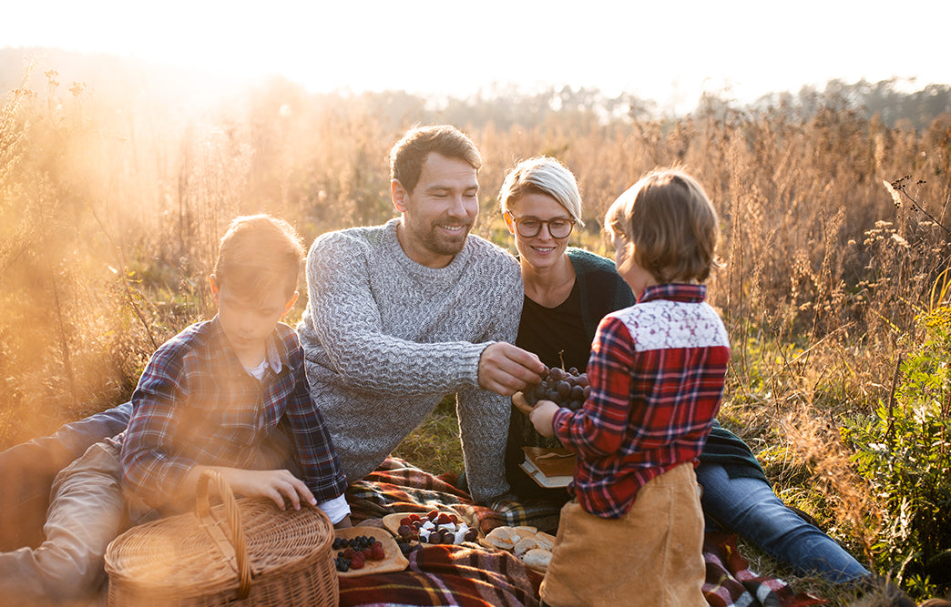 Fall picnics are one of the best ways to get out in nature. Bring your insect repellent gear!