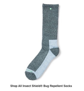 Browse and shop all our Insect Shield bug repellent socks.