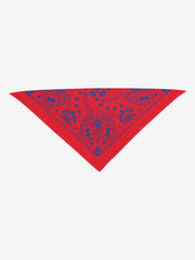 Folded Triangle Bandana Insect Shield for Pets Paisley Bandana