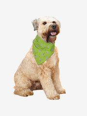 Dogs & Bones Bandana, Green