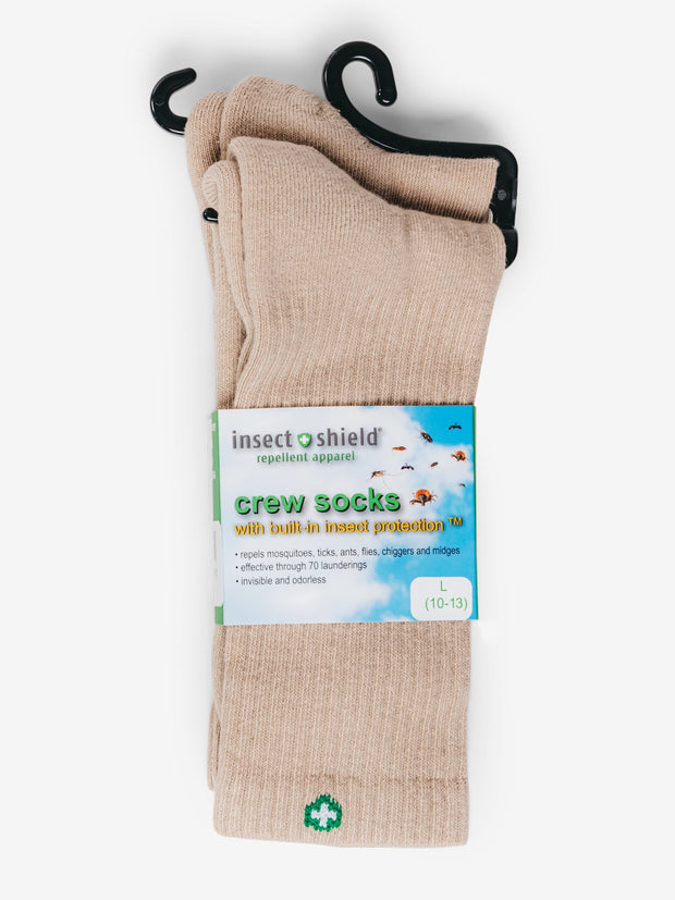 Insect Shield Crew Socks (Two-Pair Pack)