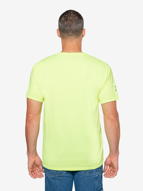 Insect Shield Men's High Vis Short Sleeve T-Shirt