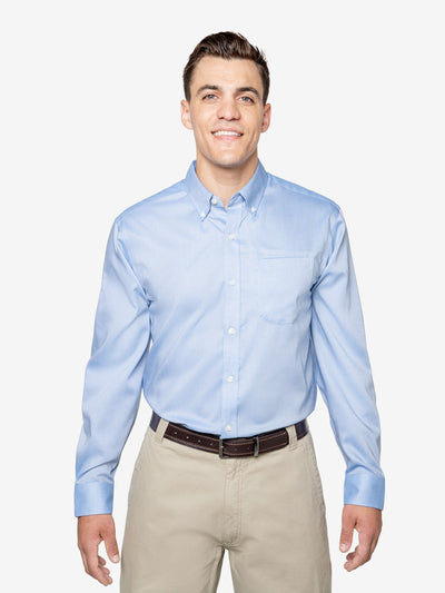 Insect Shield Men's Wrinkle-Resistant Oxford Shirt