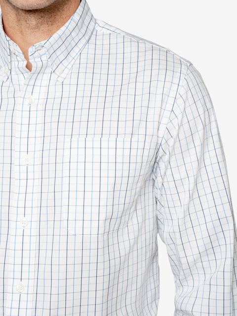 Insect Shield Men's Tattersall Wrinkle-Resistant Plaid Shirt
