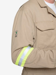 Insect Shield Men's 7 oz Tecasafe® FR Coverall w/ Hi-Vis