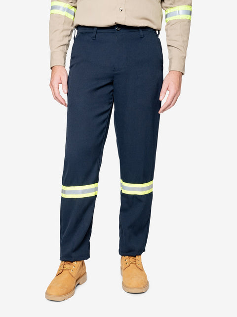 Men's 7 oz. Tecasafe® FR Work Pant  w/ Hi-Vis