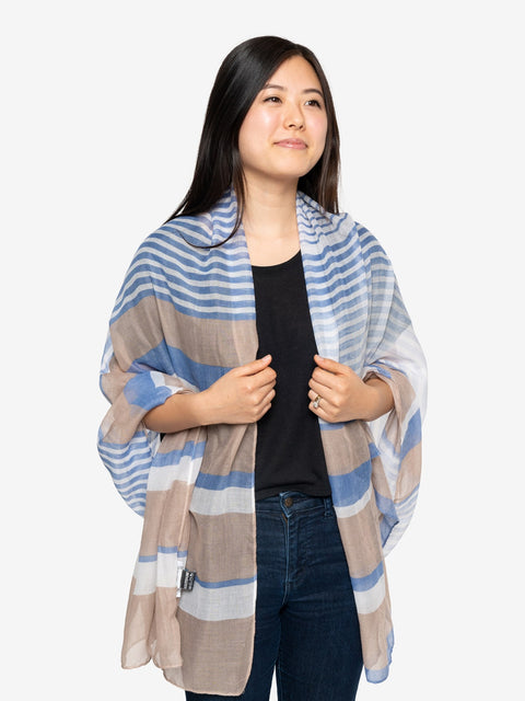 Insect Shield Stripe Versatile Wrap
