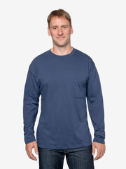 Men's Insect Shield UPF Dri-Balance Long Sleeve Pocket Crew