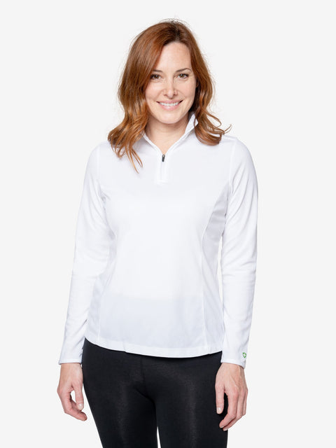Women's Insect Shield Protection Quarter Zip
