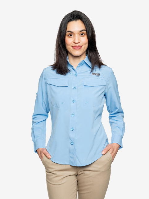 Insect Shield Women's Coastline Long Sleeve Shirt